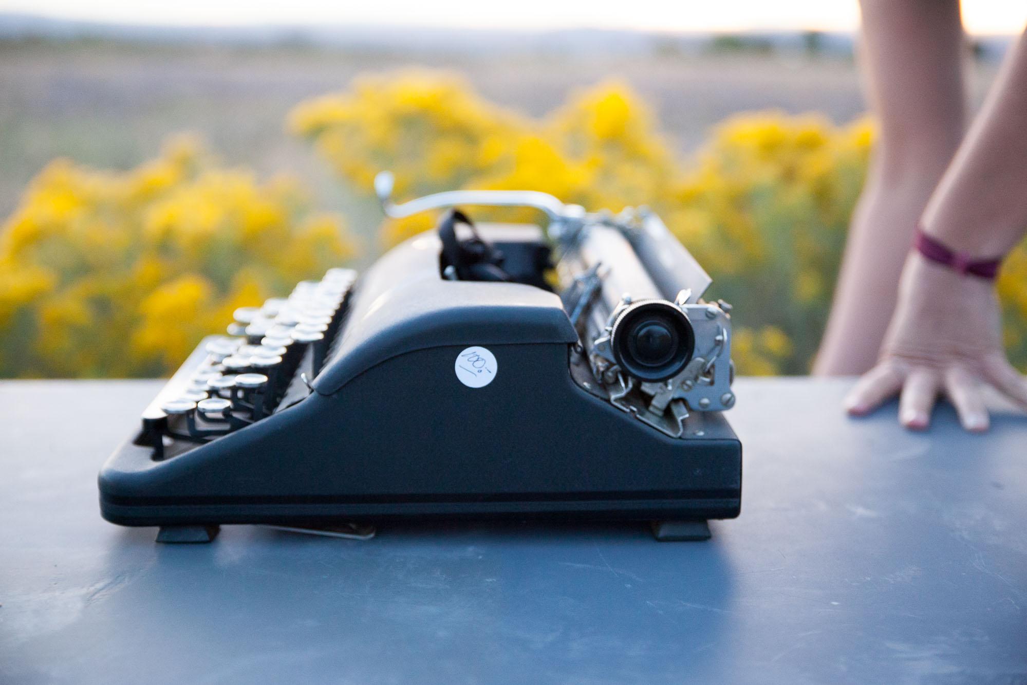 Good News Good Planet Radio Typewriter